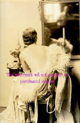 Old VINTAGE Antique BEAUTIFUL Glamorous SHOWGIRL (1) Photo Reprint