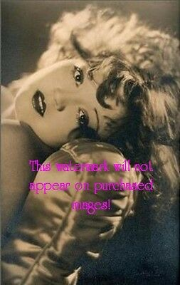Old VINTAGE Antique BEAUTIFUL Glamorous FLAPPER GIRL  Photo Reprint