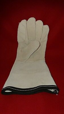Left Hand Chrome Leather Gauntlets Pack Of 10 High Quality Brand New