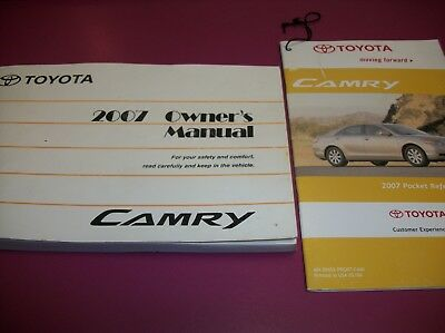 2007 toyota camry owners manual 19 00 picclick rh picclick com 2007 toyota camry owners manual pdf 2007 toyota camry service manual