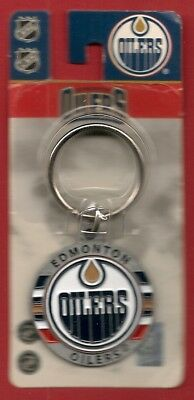 Official NHL EDMONTON OILERS Metal keychain - BRAND NEW