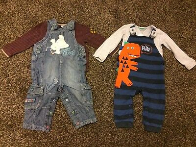 12-18 Months Boys Dungarees Outfits