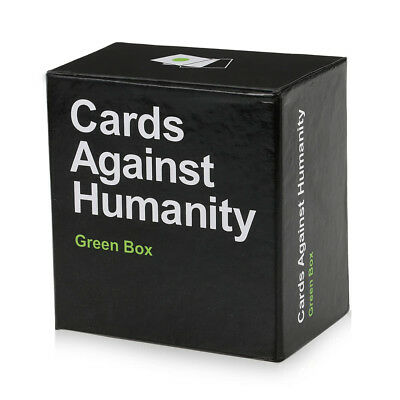 Cards Against Humanity Party Game Play Cards for Horrible Play-Green Box