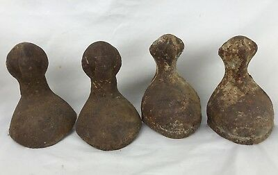 Antique Cast Iron Claw Foot Bathtub Feet Set Of 4