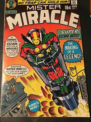 MISTER MIRACLE # 1 1st APPEARANCE - 1971 - DC- KIRBY- KEY