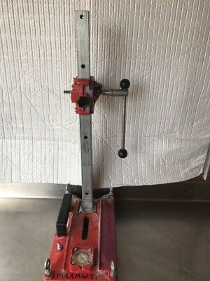 HILTI DD- DD 80 - RA H/L Stand W/ Anchor And Vacuum Base for Coring Drill*