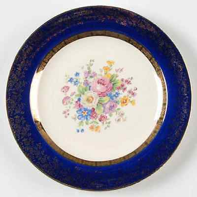 Salem (china) ARISTOCRAT-COBALT BLUE Salad Plate 668583