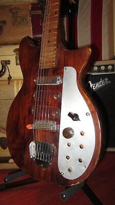 Vintage Original 1960s Marvel Electric Guitar For Repair / Project Very Cool One