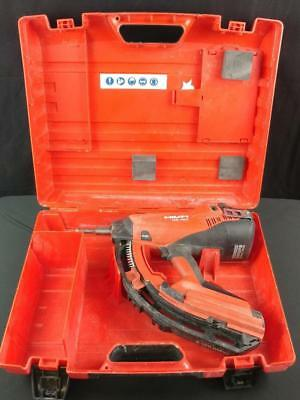 Hilti GX120 Gas Powered Fully Automatic Fastening Nail Gun Kit With Case