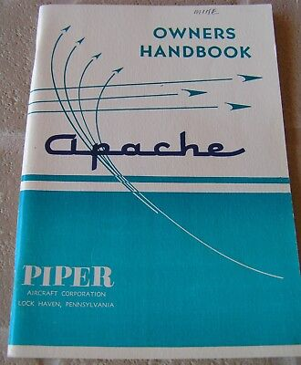 1967 Piper Apache PA-23 Owners Manual