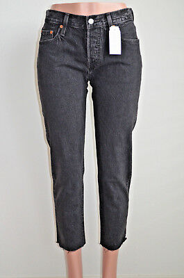 Levi's 501® Cropped Taper Jeans for Women Future Legend NWT Style 361900002