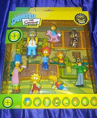 NEW SEALED THE SIMPSONS LIMITED EDITION SERIES 1 Springfield EVERGREEN TERRACE