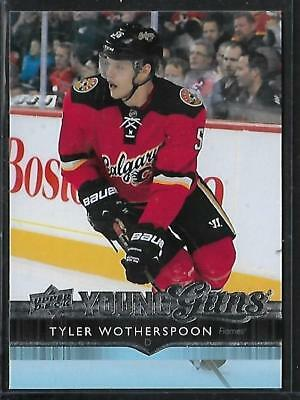 2014-15 Upper Deck Young Guns Nhl Hockey: #210 Tyler Wotherspoon Rc, Calgary