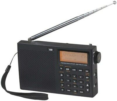 Digitech Compact World Band Shortwave Radio w/ SSB Aircraft HAM Amateur AM CB