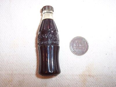 Coca-Cola Bottle Cigarette Lighter--1950s Era--Works