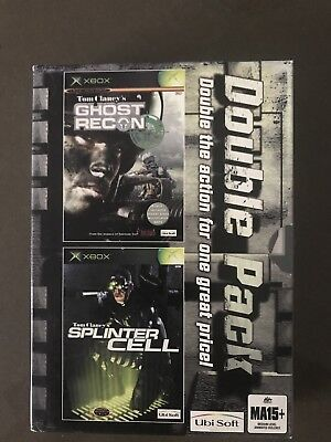 Xbox Tom Clancy's Ghost Recon/Splinter Cell Double Pack