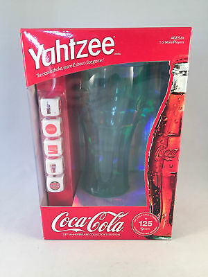 Yahtzee Coca-Cola 125th Anniversary Collector's Edition Sealed