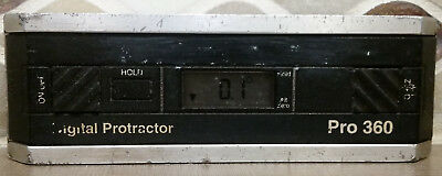 Pro 360 Digital Protractor, +/-0.1 Degree Accuracy Used