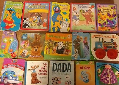 Lot of 40 Board Toddler Hardcover Picture DayCare Kid Child Books - UNSORTED D32