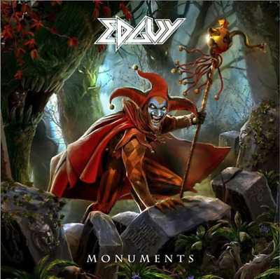 Monuments 2 cd + dvd EDGUY (FREE SHIPPING)