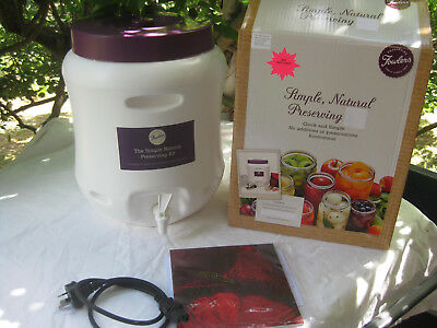 BRAND NEW Fowlers Vacola Simple Natural Preserving Unit Preserver  Electric
