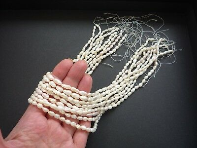 9 Freshwater Pearl Strands + clasp for necklace