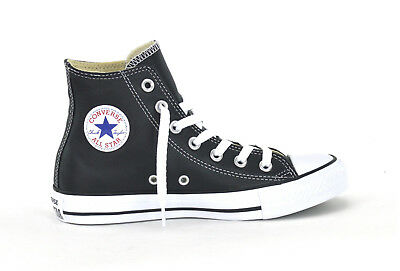 5fc2f56a16faf Converse Ct As Hi Leather - Black White - Unisex Sneakers - 132170C - Brand