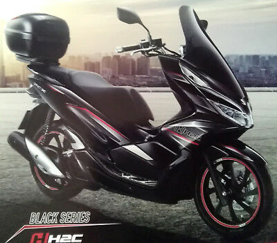 Honda Pcx Windshield Screen Touring H2c 2018 125150 Official
