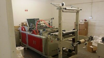 bag making machine with stock, monthly contract, website up and running