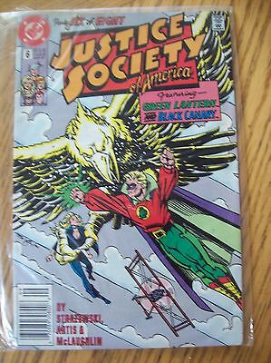 Justice Society  of America # 6 (Sept. 1991)