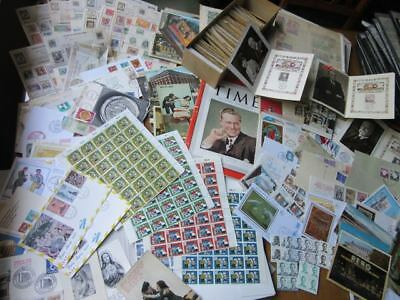 EBS Worldwide lot of stamps and collectables 180205
