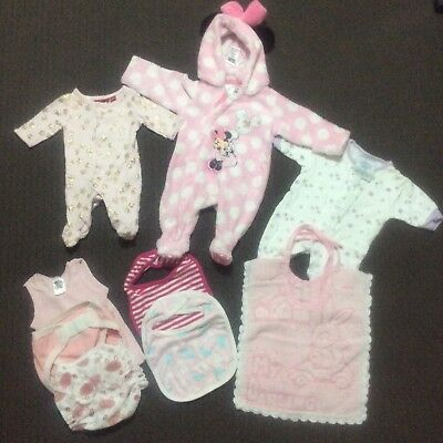 Newborn Baby Girl Clothes - size 0000
