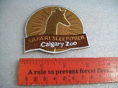 Safari Sleepover Calgary Zoo badge/patch