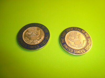 #2 First GREAT SEAL of The United States 1782 Challenge Coin-Golf Ball Markers s