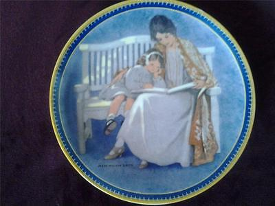 Mother's Day Plate Childhood Holiday Memories Jessie Willcox Smith Edwin Knowles