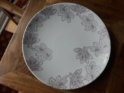Denby Monsoon Chantilly Large Round Plate *New with Labels*