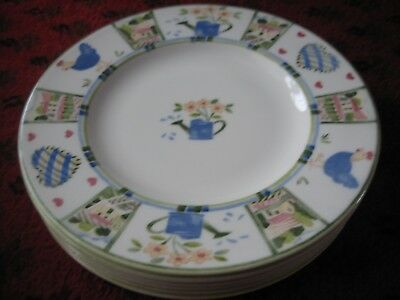 Johnson Bros Meadow Brook Set of  6 Tea Plates Excellent Condition