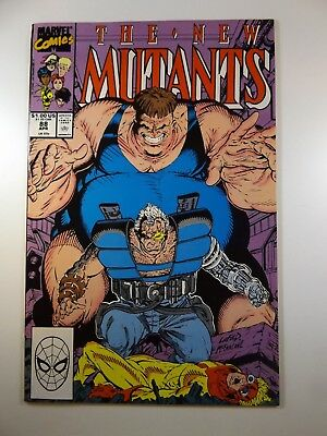The New Mutants #88 Cable vs The Brotherhood! Beautiful VF Condition!!