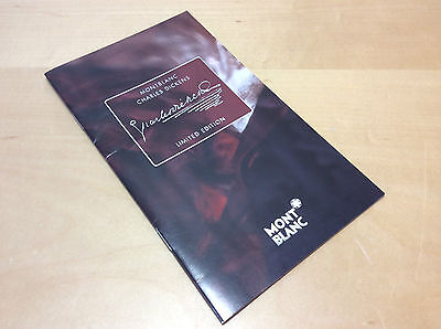 Vintage Catalogue Montblanc Meisterstück - Charles Dickens - Limited Edition