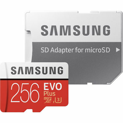 Genuine Samsung EVO Plus 256GB UHS-1  U3 Class 10 MicroSDXC Card - MB-MC256GA/AM