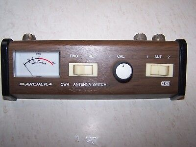 radio shack SWR meter with antenna selector . and para dynamics cb antenna match