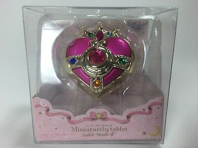 Bandai Sailor Moon 4 Miniaturely Tablet, Cosmic Heart Compact 100% Authentic