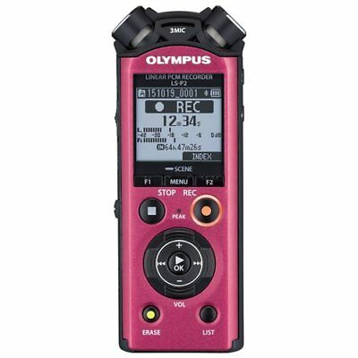 Micro registratore Olympus LS-P2 MP3,PCM 253 h DISPLAY LED