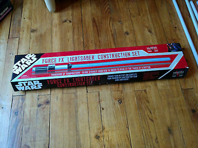 CONSTRUCTION KIT Force FX Lightsaber Master Replicas
