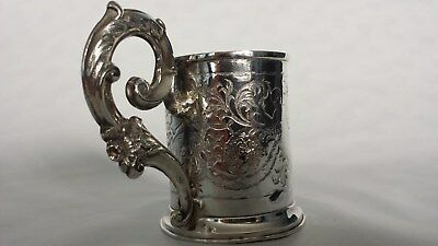 Rare German Louis XV cup 18th century, 12 lot solid silver,  low start