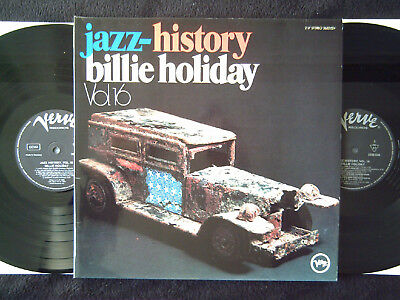 "Billie Holiday ""Jazz History Vol.16"" Verve German Press"