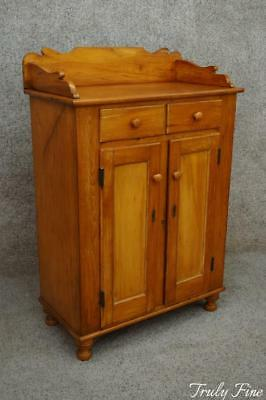 Early 1800's Antique Lancaster Co. Jelly Cabinet Storage Preserve Cupboard