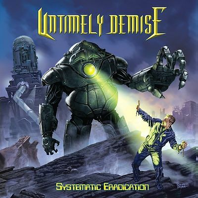 Systematic Eradication [Digipak] UNTIMELY DEMISE CD ( CANADA BEST METAL BAND)