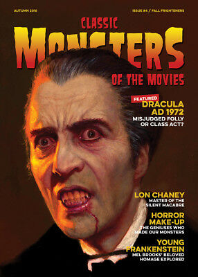 Classic Monsters Magazine Issue 4: Horror Film and Horror Movie Magazine