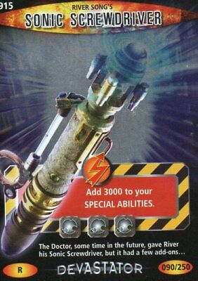 Doctor Who - Battles In Time - River Song's Sonic Screwdriver - 915 - Rare